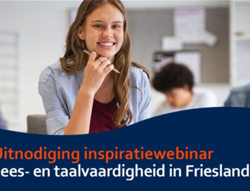 Inspiratiewebinar: Lees- en taalvaardigheid in Friesland