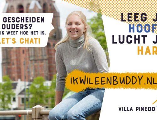 Persbericht: Een Buddy voor elk Fries kind met gescheiden ouders