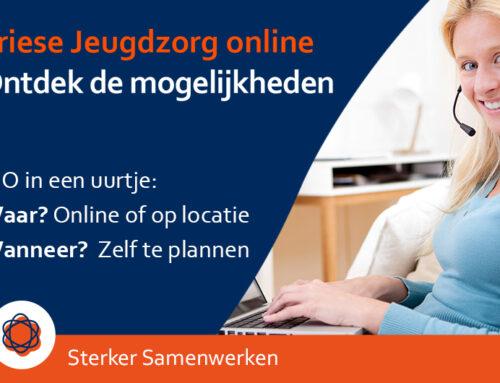 Ontdek in een uur alle mogelijkheden van Friese Jeugdzorg online